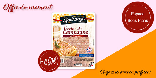 Coupon de réduction pâté de campagne