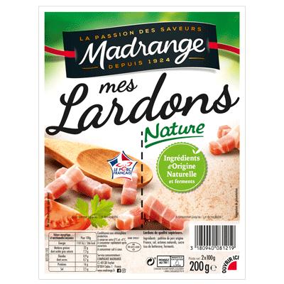 Lardons nature Madrange