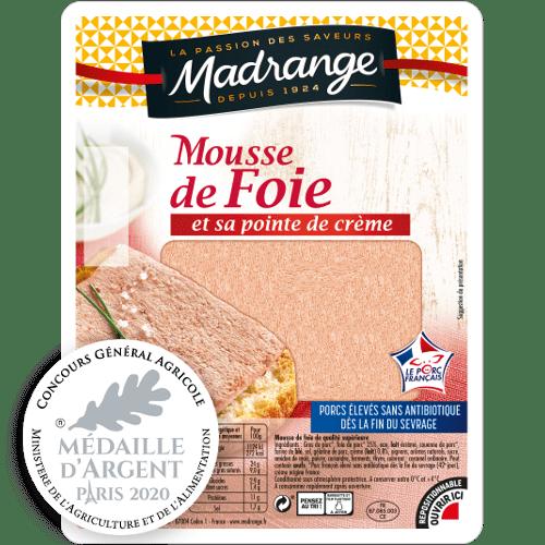 Mousse de foie <br>et sa pointe de crème