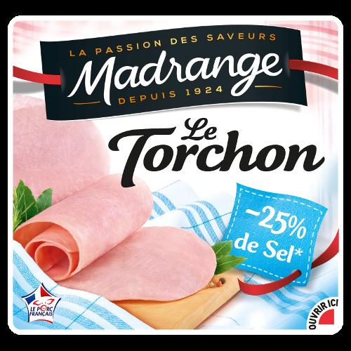 Le Torchon<br> <i>-25% de sel*</i>