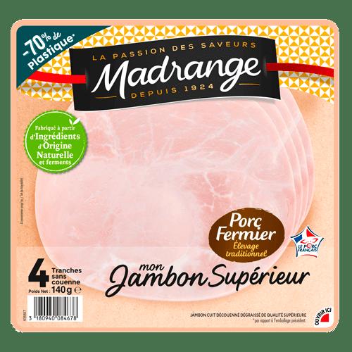 Packaging Mon Jambon Supérieur porc fermier