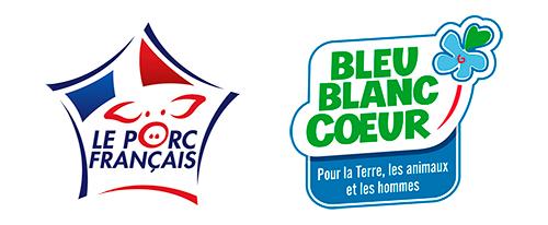 Logos VPF et Bleu-Blanc-Cœur