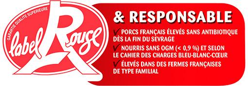 Logo Label Rouge & Responsable