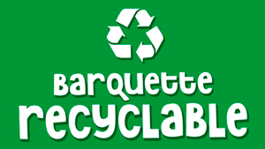 Logo barquette recyclable seul