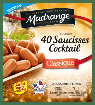 Saucisses cocktail classique
