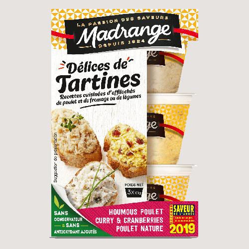 Délices de Tartines <br><i>saveurs du monde</i>