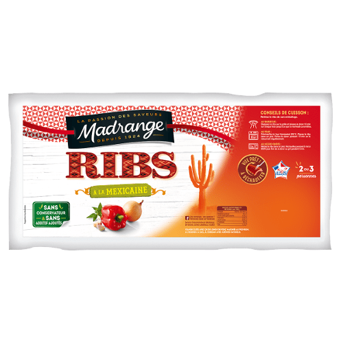 Ribs <br><i>à la Mexicaine</i>