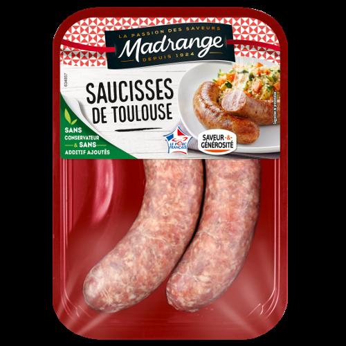 Saucisses de Toulouse