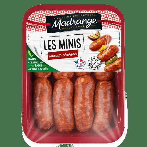 Les minis <br><i>saveur chorizo</i>