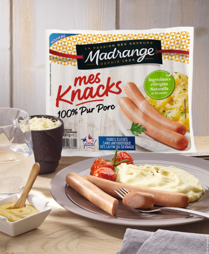 Mes Knacks 100% pur porc Madrange