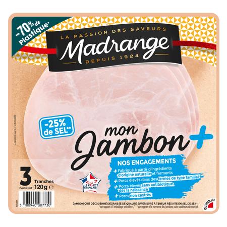 Mon Jambon + Taux de sel réduit