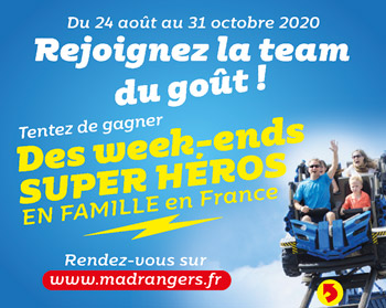 Sticker promotionnel de l'opération Madrangers