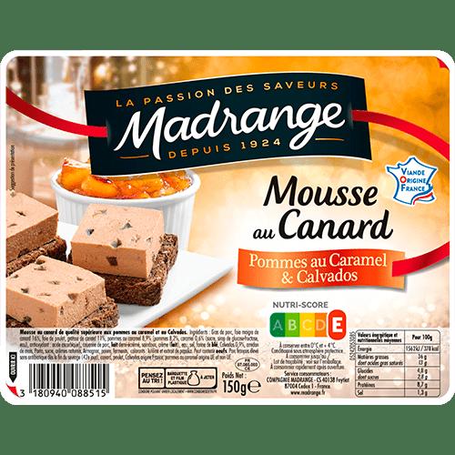Mousse au canard Pommes au caramel & Calvados