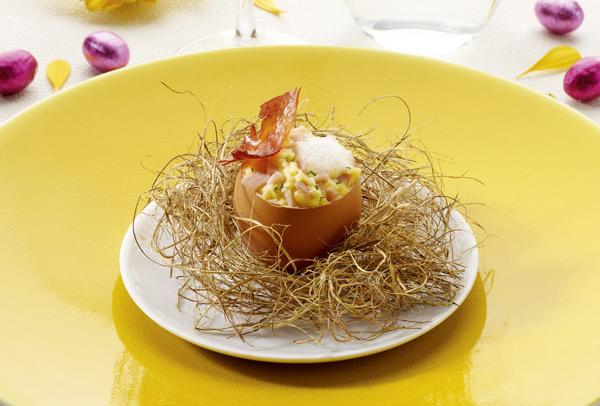 Recette d'œuf de Pâques au jambon