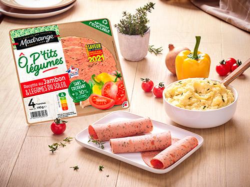 Photo d'ambiance jambon aux légumes du soleil