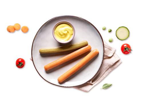 Visuel gamme saucisses Ô P'tits légumes