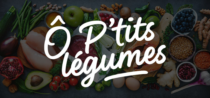 Bannière Ô P'tits légumes