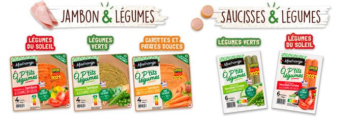 Présentation gamme Ô P'tits légumes