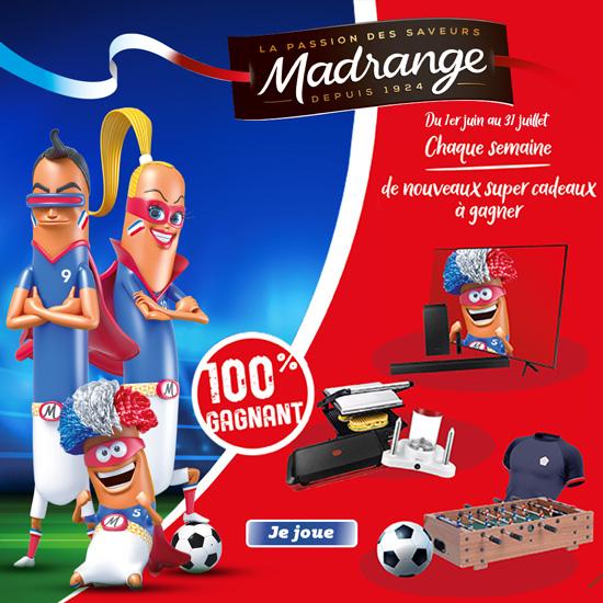 Jeu-concours Euro de foot Madrangers 2021
